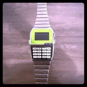 Casio watch/calculator